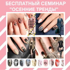 Дизайн ногтей. БЕСПЛАТНАЯ презентация новинок E.Mi (1 день)